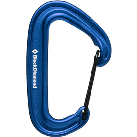 Black Diamond Miniwire Mosquetón, blue